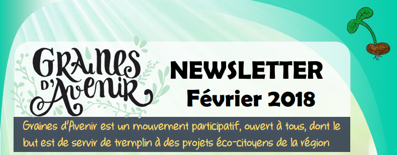 Newsletter Graines d'Avenir Février