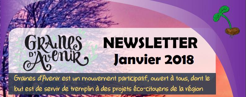 Newsletter Graines d'Avenir Janvier