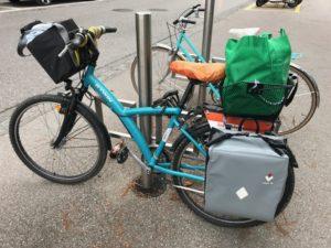 Faire ses courses à vélo demande organisation et réflexion. Après cette étape, profitez de l'expérience !