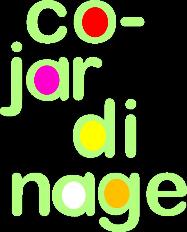 Logo co-jardinage en portrait