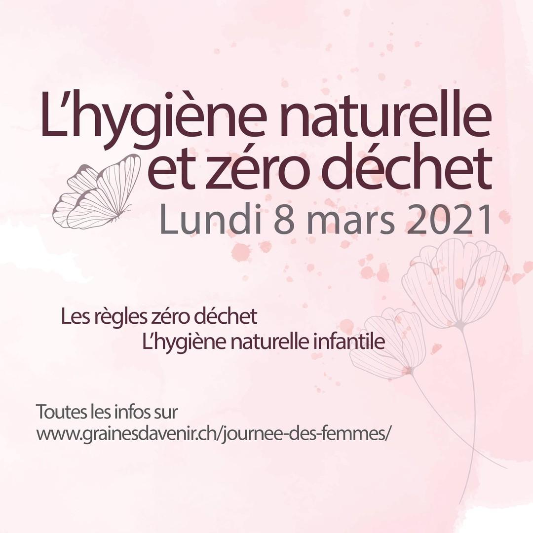 Affiche carré de la soirée des femmes du 8 mars 2021